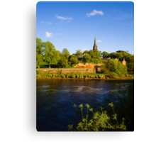 St Mary's Outside the Walls Chester Canvas Print
