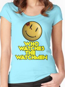 Who Watches The Watchmen Women's Fitted Scoop T-Shirt