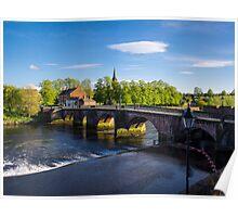 Grosvenor Bridge Chester Poster