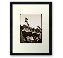 Art Deco House Chester Framed Print
