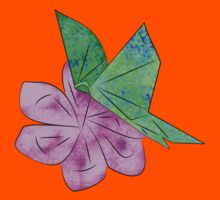 Origami Butterfly Kids Clothes