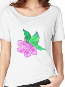 Origami Butterfly Women's Relaxed Fit T-Shirt