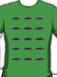 VW Bug History Graphic Pen T-Shirt
