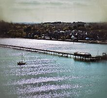 Hythe Pier by CHINOIMAGES