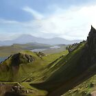 The Old Man of Storr by Meg Owenson