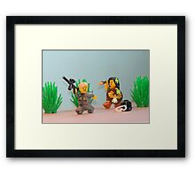 Different Rules Framed Print
