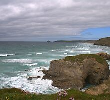 """"""" Rip Currents , Perranporth """" by Richard Couchman"""
