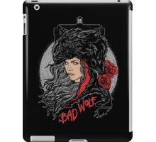 Bad Wolf-Black iPad Case/Skin