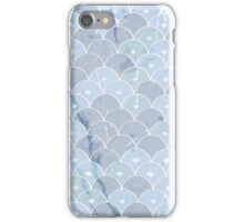 Blue ethnic pattern  iPhone Case/Skin
