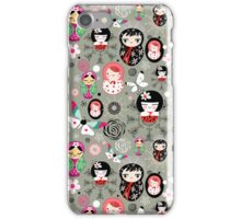 Different funny dolls iPhone Case/Skin