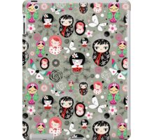 Different funny dolls iPad Case/Skin