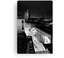 Cardiff from above Canvas Print