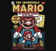 Incredible Mario Baby Tee