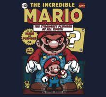 Incredible Mario Kids Tee