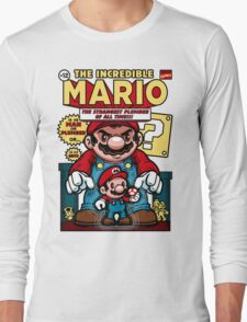 Incredible Mario Long Sleeve T-Shirt