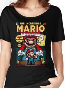 Incredible Mario Women's Relaxed Fit T-Shirt
