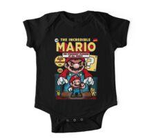 Incredible Mario One Piece - Short Sleeve