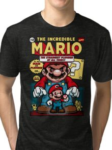 Incredible Mario Tri-blend T-Shirt