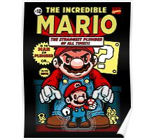 Incredible Mario Poster