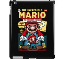 Incredible Mario iPad Case/Skin