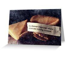 Confucius Say.... Greeting Card