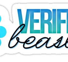 Verified Beaster Sticker