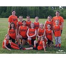 Wildcats softball team Photographic Print