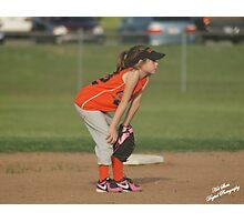 Second baseman Photographic Print