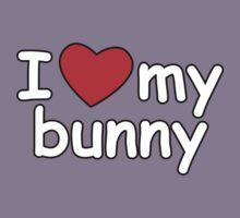 I Love My Bunny Kids Clothes