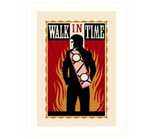 Walk in Time  Art Print