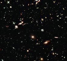 Hubble Deep Field by Jarriet
