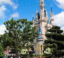 Cinderella's Castle by rebeccaariel