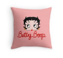 Betty Boop Cartoon Head Throw Pillow
