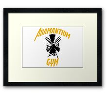 Gym - Logan Framed Print