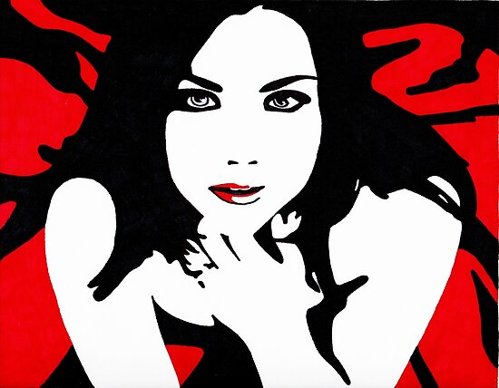 Amy Lee Original Derivative Artwork by starchelle