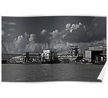 CONRAD Industries Shipyard Poster