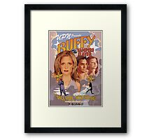 Buffy: Once More, With Feeling Framed Print