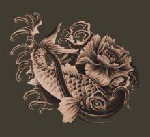 Sienna Koi Art by Aarron Laidig