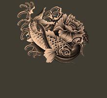 Sienna Koi Art Womens Fitted T-Shirt