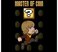 Master of Coin Photographic Print