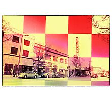 Fitting in Uptown  Photographic Print