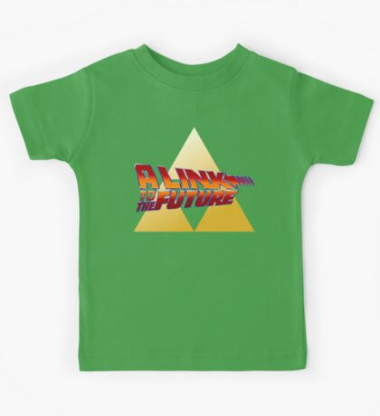 A Link to the Future Kids Tee