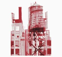 Depeche Mode : Delta Machine Paint cover - Only - water tower 2 by Luc Lambert