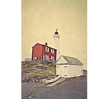 Lighthouse Vancouver Island Photographic Print