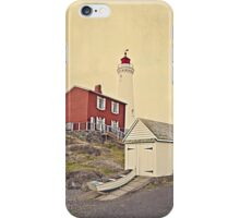 Lighthouse Vancouver Island iPhone Case/Skin