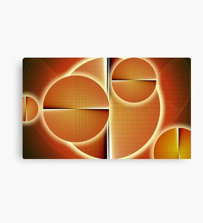 Solar forces Canvas Print
