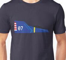 F-Zero - Captain Falcon's Blue Falcon Unisex T-Shirt