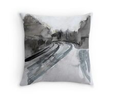 Mannamead Road Throw Pillow