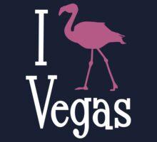I Love Vegas design for dark apparel One Piece - Long Sleeve