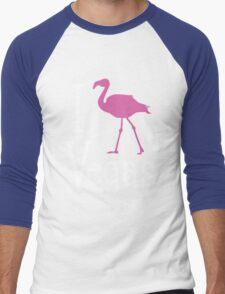 I Love Vegas design for dark apparel Men's Baseball ¾ T-Shirt